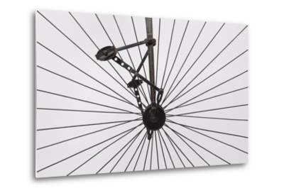 A Columbia High Wheel Bicycle--Metal Print