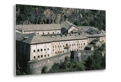 Fort Bard, 19th Century, Aosta Valley, Italy--Metal Print