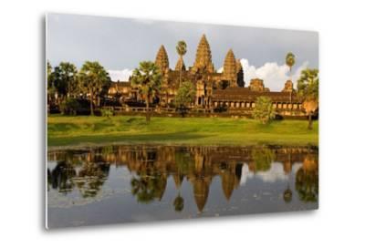 Angkor Wat Temple, Cambodia--Metal Print