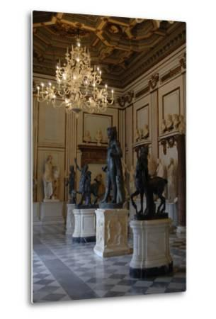 Capitoline Museums. Hall of the Philosophers. Rome. Italy--Metal Print