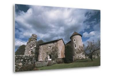 Chateau Bayard, 15th Century, Pontcharra, Rhone-Alpes, France--Metal Print