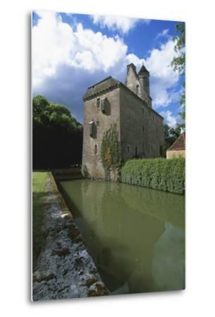 Chateau of Thenissey, Founded in 15th Century, Burgundy, France--Metal Print