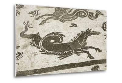 Roman City of Italica, House of Neptune, Spain--Metal Print