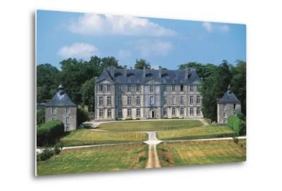 Chateau of Loyat, 18th Century, Brittany, France--Metal Print