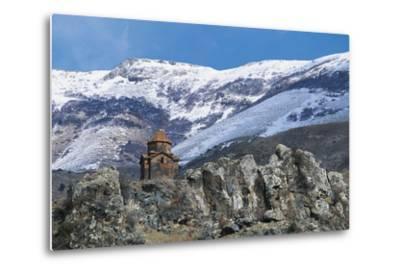Surb Sarkis Church, Bjni, Armenia--Metal Print