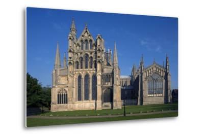 Ely Cathedral (1085), Cambdridgeshire, United Kingdom--Metal Print