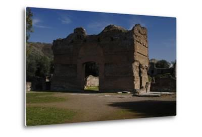 Hadrian's Villa, the Palace, 2nd Century, Italy--Metal Print