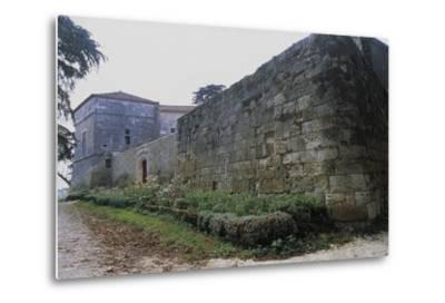 Chateau of Monluc, Estillac, Aquitaine, France--Metal Print