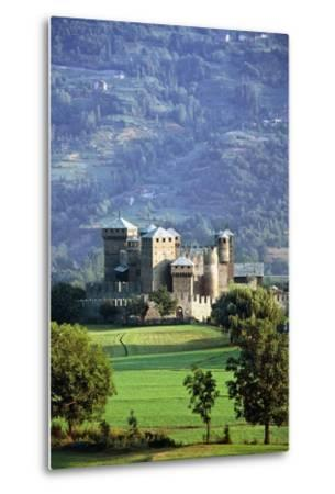 Fenis Castle (13th-18th Century), Aosta Valley, Italy--Metal Print