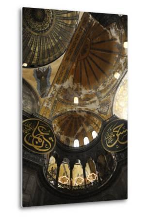 Hagia Sophia, Interior, Istanbul--Metal Print