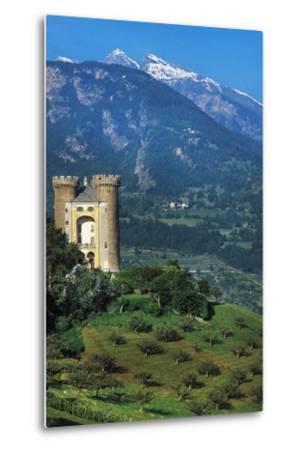 Aymavilles Castle, 12th-14th Century, Aosta Valley, Italy--Metal Print