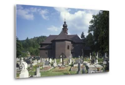 Church of Our Lady of Snows at Velke Karlovice--Metal Print