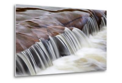 Flowing Water-Mark Sunderland-Metal Print