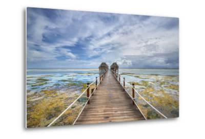 Zanzibar Pier-Marco Carmassi-Metal Print