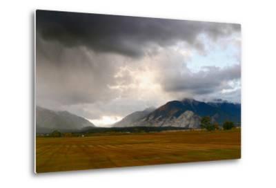 Leadville, Colorado: A Storm Builds in the Colorado High Country-Ben Horton-Metal Print