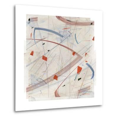 Vectora Panel II-James Burghardt-Metal Print