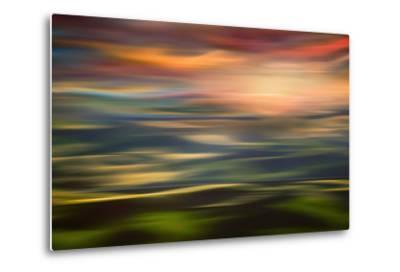 Rolling Hills at Sunset Copy-Ursula Abresch-Metal Print
