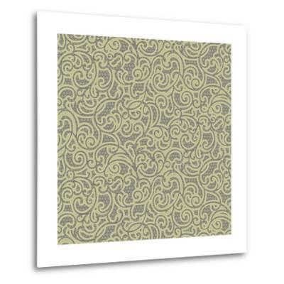 Sheer Romance Scroll I-Katia Hoffman-Metal Print