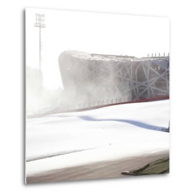 Beijing National Stadium, Beijing, China--Metal Print
