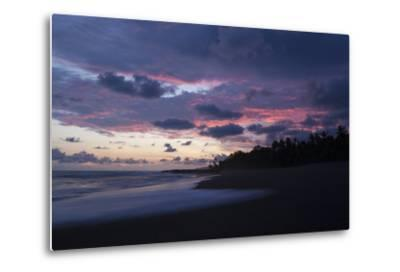 Sunset Above the Coast of the Osa Peninsula-Gabby Salazar-Metal Print