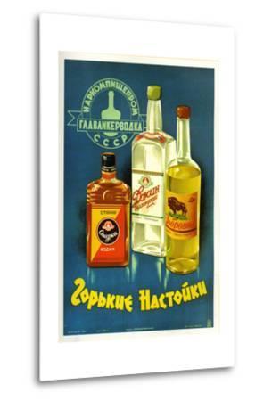 Gorki Liquors--Metal Print