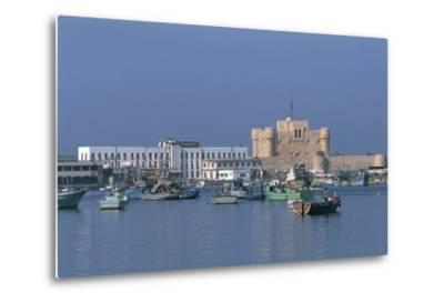 The Port of Alexandria, Egypt--Metal Print
