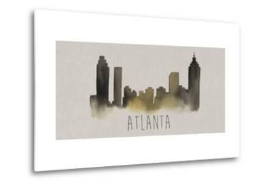 City Silhouettes I-Grace Popp-Metal Print