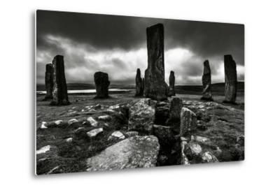 Historic Standing Stones in Scotland-Elizabeth May-Metal Print