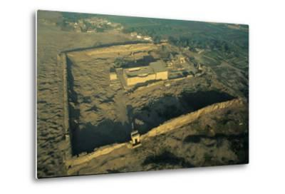 The Dendera Temple Complex-Marcello Bertinetti-Metal Print