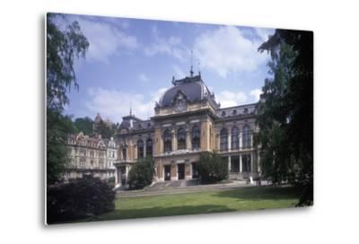 Imperial Bath, Karlovy Vary, Czech Republic--Metal Print