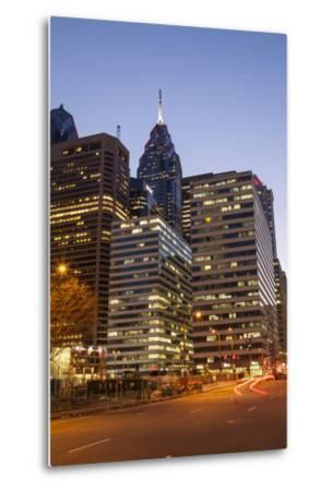 Highrise Office Towers and Hotels in the Downtown Financial District of Philadelphia-Richard Nowitz-Metal Print