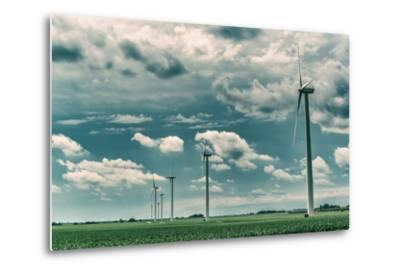 Wind Turbines-Stephen Arens-Metal Print