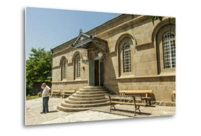 The Exterior of the Akhaltsikhe Synagogue of the Georgian Jews-Richard Nowitz-Metal Print