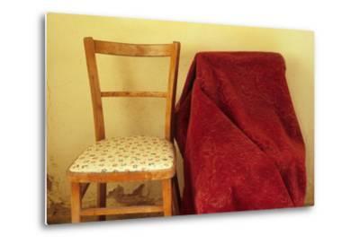 Chairs-Den Reader-Metal Print