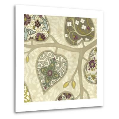 Patterns in Foliage IV-June Erica Vess-Metal Print