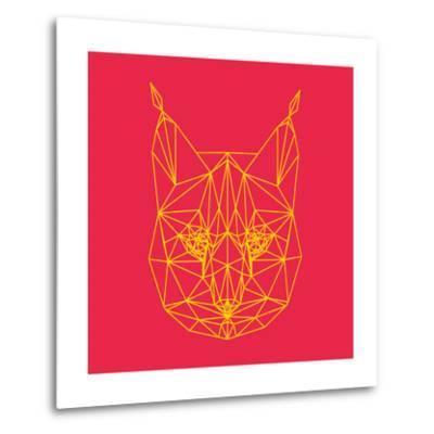 Bobcat Polygon 2-Lisa Kroll-Metal Print