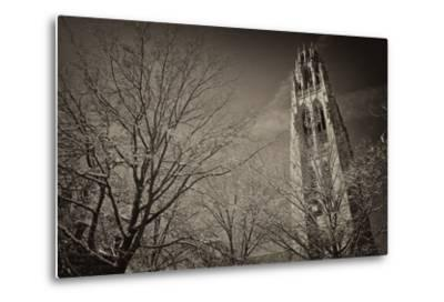 Yale University's Gothic Harkness Tower-Kike Calvo-Metal Print