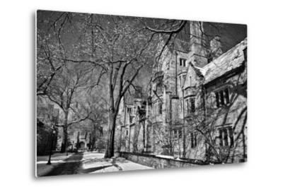 Winter Blizzard at Yale University-Kike Calvo-Metal Print