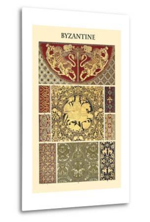Ornament-Byzantine-Racinet-Metal Print