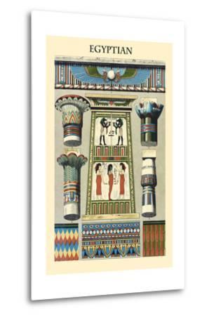 Ornament-Egyptian-Racinet-Metal Print