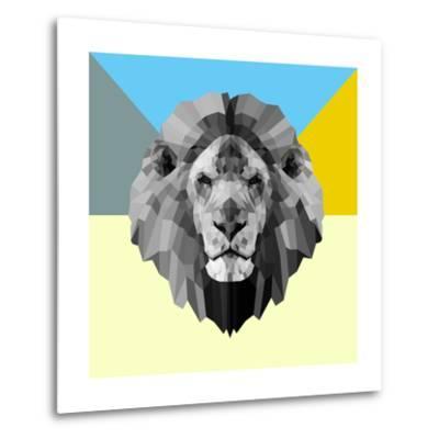 Party Lion-Lisa Kroll-Metal Print