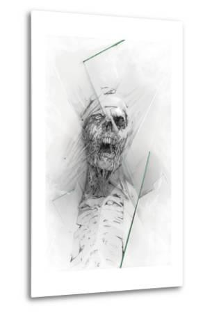 Skull 58-Alexis Marcou-Metal Print