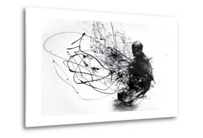 Burn Burn Burn-Agnes Cecile-Metal Print