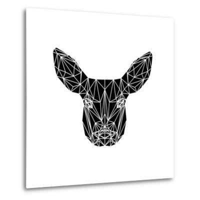 Black Baby Deer-Lisa Kroll-Metal Print