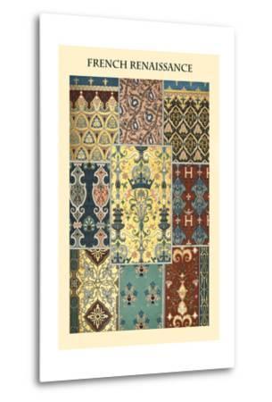 Ornament-French Renaissance-Racinet-Metal Print