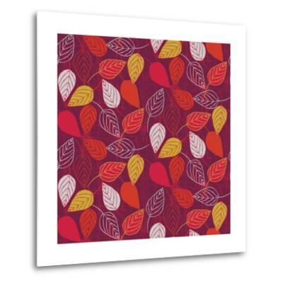 Red Fall VII-Ali Benyon-Metal Print