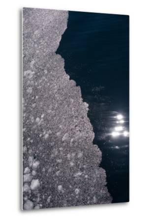 An Abstract Detail of an Iceberg-Tom Murphy-Metal Print