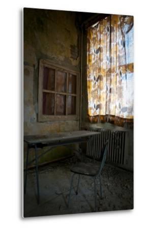 Abandoned Power Station-Nathan Wright-Metal Print