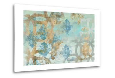 Pattern Construct I-Jennifer Goldberger-Metal Print