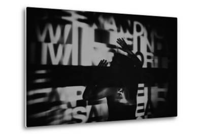 Abstract Image of Female Figure-Rory Garforth-Metal Print